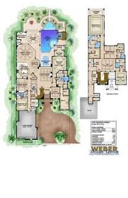 Mediterranean Floor Plan Coastal Contemporary Florida Mediterranean House Plan 75967 Level