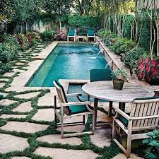 Outdoor Backyard Ideas by Best 25 Small Backyard Pools Ideas On Pinterest Small Pools