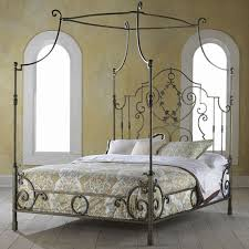 Metal Canopy Bed Metal Canopy Bed Frame King In Engrossing Metal Canopy Bed Frame