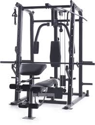 smith cage strength home gym total body weight trainer workout