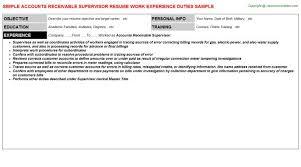 Clerk Job Description Resume Concierge Resume Professional Concierge Templates To Showcase