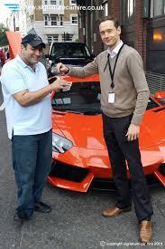 rent a lamborghini aventador uk car hire client enjoys signature s lamborghini aventador