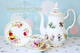 flower of the month beautiful pottery royal albert flower of the month