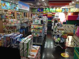 shopping for art and craft supplies at namdaemun alpha store