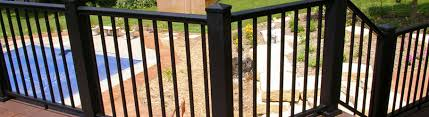 How To Build A Deck Handrail Afco Aluminum Deck Railing System Decksdirect