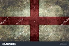 Flag And Cross Flag England St Georges Cross Textured Stockillustration 212556466