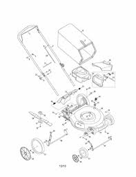 lawn mowers craftsman lawn mower engine parts diagram