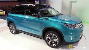 suzuki every interior 2015 suzuki vitara exterior and interior walkaround debut at