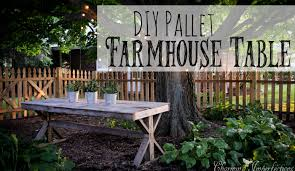 Build A Picnic Table Out Of Pallets by Pallet Picnic Table