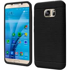 Galaxy Rugged For Samsung Galaxy S7 Rugged Thick Silicone Grip Soft Skin Case