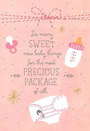 congratulations on new card precious pink package new baby girl congratulations card