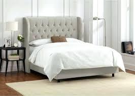 Grey Tufted Headboard Gray Tufted Headboard Tufted Bed Frame Adjustable