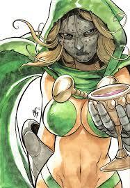 Dr Doom Mask Miss Doctor Doom By Marcelperez On Deviantart