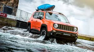 jeep renegade white jeep renegade tackles an olympic white water rafting course
