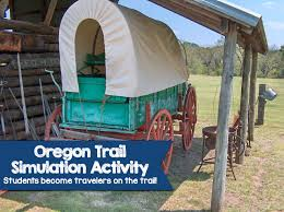 oregon trail simulation activity u2013 become a traveler