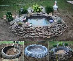 Building A Fish Pond In Your Backyard by Best 25 Tractor Tire Pond Ideas Only On Pinterest Tire Pond