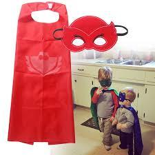 aliexpress buy 2017 superhero pj masks cape sets gekko