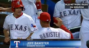 Banister Ball Look Jeff Banister Catches Self Celebrating With Rangers Bat Boy