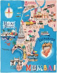 World Map Poster India by Map Of Mumbai My 2015 Wish List Pinterest Mumbai India