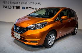 nissan note 2004 after beating the prius in japan nissan u0027s e power hybrids may go