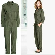h m jumpsuit 22 h m h m green jumpsuit from s closet on poshmark