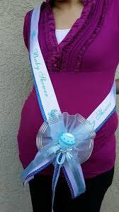 baby shower ribbon 1baby shower to be sash blue boy ribbon favors handmade