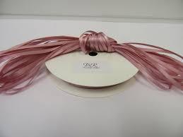 blush satin ribbon blush quartz light pink satin ribbon 2 10 or 25 metres