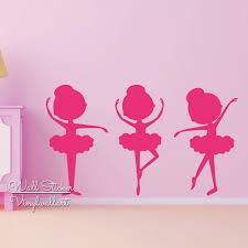 Wall Decals For Girl Nursery by Ballet Girls Wall Sticker Baby Nursery Girls Wall Decal Children