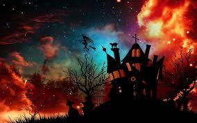 wallpaper hallowen fall halloween desktop backgrounds clipartsgram com