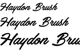 Seeking Font 15 Free Brush Fonts To Designbeep