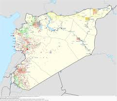 Map Of Current Location Detailed Map Of The Current Situation In Syria 3509x3054 Mapporn