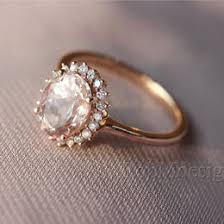 morganite gold engagement ring morganite wedding ideas collections