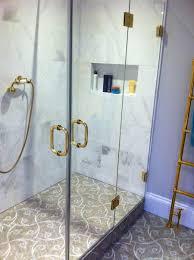 Gold Shower Doors Made To Measure Bespoke Frameless Shower Ideas