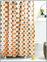 Burnt Orange Curtains Sale Orange And Grey Curtains Processcodi