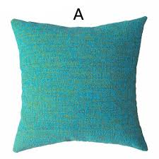 blue and yellow knit pillow for couch modern minimalist style sofa