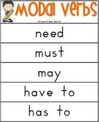 modal verbs elementary worksheet ela pinterest