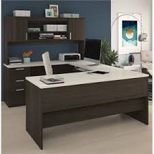 Bestar U Shaped Desk Bestar Ridgeley Collection