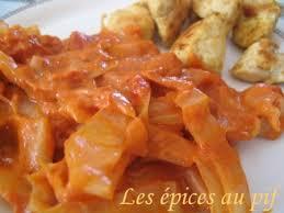 cuisiner du choux blanc curry de chou blanc au lait de coco les épices au pif