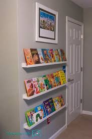 Bookshelf Books Child And Story Books Ikea Picture Ledges For Childrens Front Facing Book Shelves Ikea