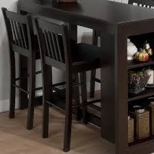 jofran maryland counter height storage dining table jofran counter height slat back stool in maryland merlot set of 2