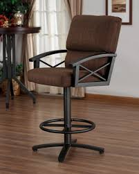 Bar Stools Ikea Buy Chintaly by Furniture Leather Swivel Bar Stools Counter Chairs Height