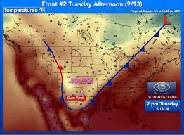 Weather Map Texas Dfw Cold Front To Bring Cooler Temps To N Texas Saturday 9 10