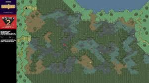 Yahoo Maps Com Mother 2 Deep Darkness Super Nintendo Snes Map