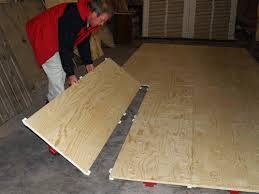 plywood floor on grass temporary modular portable flooring