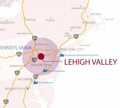 Show Me A Map Of Pennsylvania by Maps Of The Lehigh Valley Lehigh Valley Pa Lehigh Valley Pa