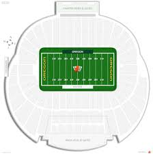 Oregon Time Zone Map by Autzen Stadium Oregon Seating Guide Rateyourseats Com