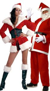 santa costumes holidays couples costume santa couples costume his and hers