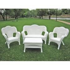 cushionless patio furniture sets birch lane