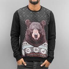 cipo u0026 baxx overwear jumper sweatshirt in black men 100 quality