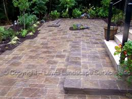24x24 Patio Pavers by Lewis Landscape Services Paver Patios Portland Oregon